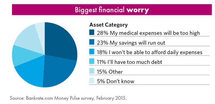 Biggest Financial Worry Chart