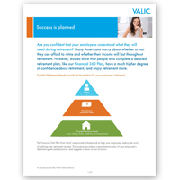 VALIC Financial 360 Sales Flier