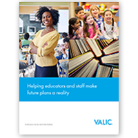 VALIC K-12 Public School (New Business) Prospecting Brochure