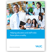 VALIC K-12 Private School (New Business) Prospecting Brochure