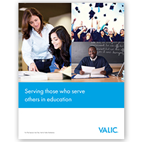 VALIC Higher Education (New Business) Prospecting Brochure